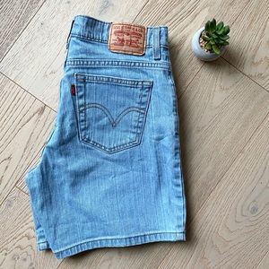 Levi's 550 Relaxed Denim Shorts